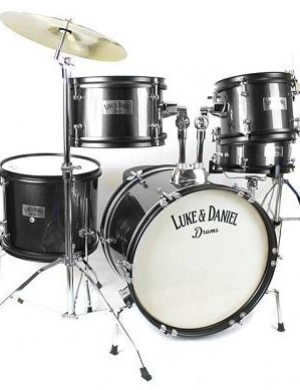 LUKE & DANIEL batteria acustica  JUNIORE D950 J5 pezzi con piatti